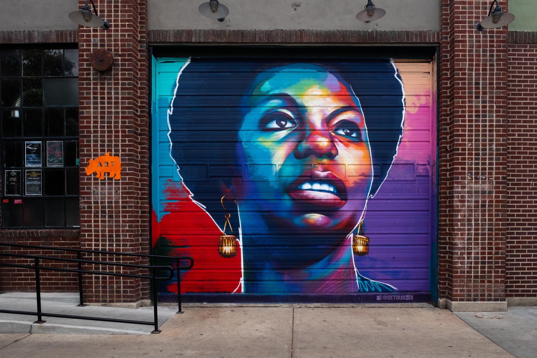 CRUSH WALLS DENVER 2018  NINA SIMONE BY DETOUR303
